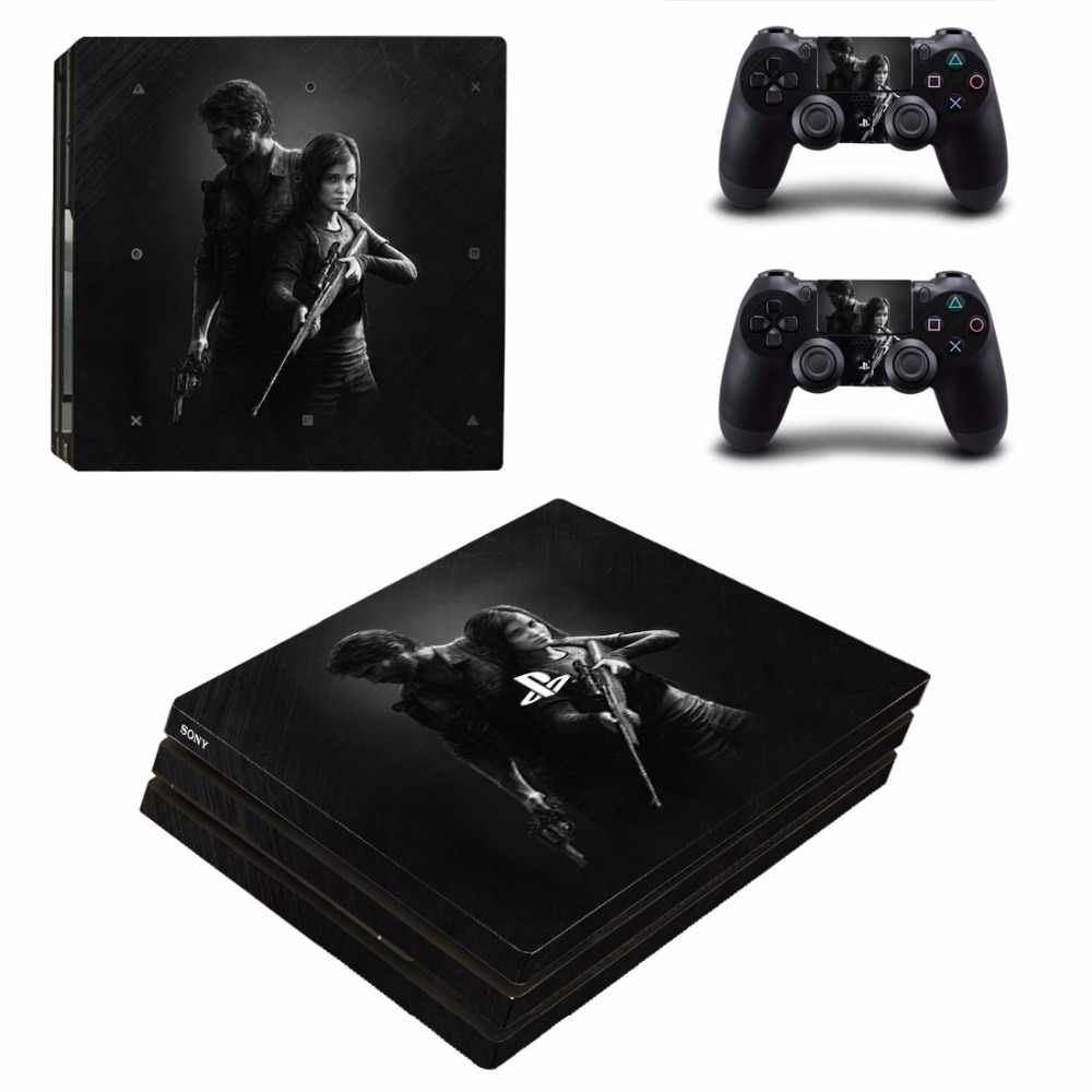 The Last of Us PS4 Pro Skin Sticker Decal Vinyl for Sony Playstation 4 Console and 2 Controllers PS4 Pro Skin Sticker