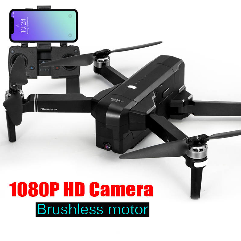 SJRC F11 GPS Drone Professional 25 Mins RC Quadcopter with widel-angle 1080P HD camera RTF Brushless Follow Me Quadrocopter Dron