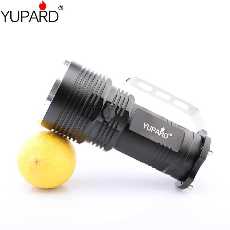 Купить с кэшбэком yupard XM-L2  T6 LED Spotlight  camping lantern LED Flashlight long illumination torch portable Searchlight camping light