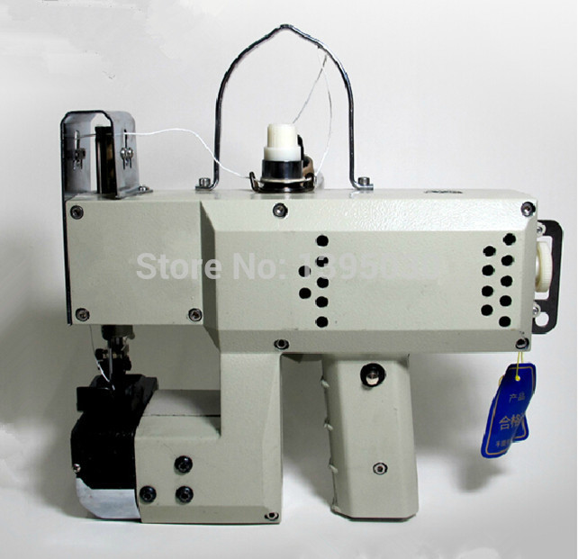 1PC GK9-018 Automatic Tangent Tool Single Needle Thread Chain Stitch Portable Bag Woven Sewing Machine manual sewing machine automatic tangent hand woven sewing machine hand packet sewing tool gk9 350