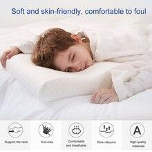 Подушка-сэндвич с регулируемой памятью, Подушка для сна, шейные подушки для боли в шее, поддержка шеи, может CSV