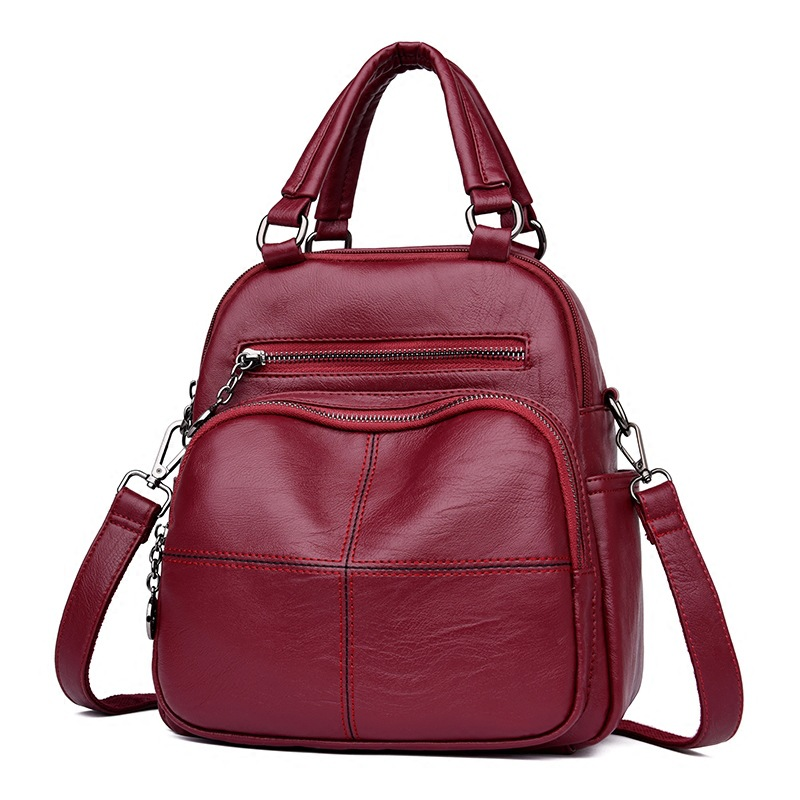 Small Mini Bag Women Shoulder Bags Crossbody Women Genuine Leather Backpack Women Korean Style Bag Mochila Feminina