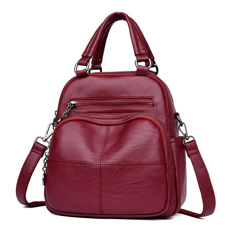 Small Mini Bag Women Shoulder Bags Crossbody Women Genuine Leather Backpack Women Korean Style Bag Mochila Feminina
