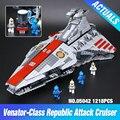 Lepin 05042 Star Series Guerra A República Lutando Cruiser Definir Blocos de Construção Tijolos Brinquedos Educativos