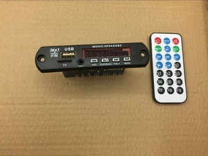 Image 2 - الالكترونيات الذكية USB TF سماعة لاسلكية تعمل بالبلوتوث ، WMA ، APE ، FLAC ، WAV فك مجلس 12 فولت سيارة لاسلكية الصوت بلوتوث وحدة يدوي