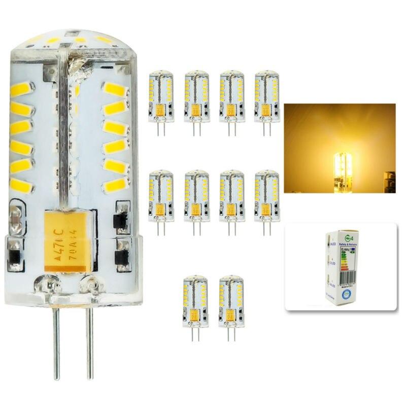 10Pcs/lot 2015 Cree Hot Sale 57LED lamp G4 corn Bulb AC DC12V 8W SMD 3014 LED light 360 degrees Beam Angle spotlight lamps bulb