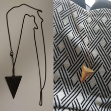 Triangle Chain Necklace