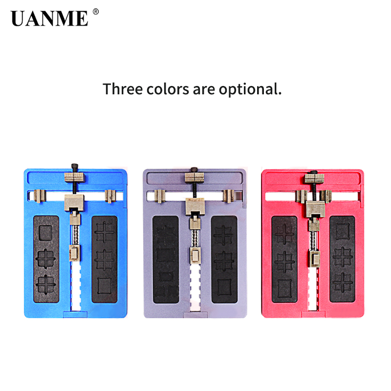 UANME Motherboard Clamps High Temperature Main Logic Board PCB BGA Fixture Holder for iPhoneA8 A9 A10 Plus Fix Repair Mold ToolUANME Motherboard Clamps High Temperature Main Logic Board PCB BGA Fixture Holder for iPhoneA8 A9 A10 Plus Fix Repair Mold Tool