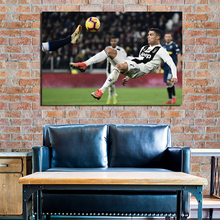 Ronaldo Strive To Serie A Top Score Canvas Posters Print Wall Art Painting Decorative Picture Modern Home Decoration Accessories top posters холст золотой мустанг top posters 50х75х2см b 714h