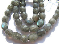 2strands 8x10mm Drum Rice Labradorite Bead Natural Labradorite Barrel Faceted Beads Wholesale Supplier