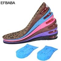 EFBABA Height Increase Insoles Air Cushion Sweat Absorbent Breathable Damping Running Sports Insoles Men Women Shoes Pad 3 7cm