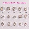 Frete Grátis 2016 New Hot 100 pçs/saco Swarovski Cristal Nail Art Strass Jóias Decoração de Unhas para Unhas Telefones DIY