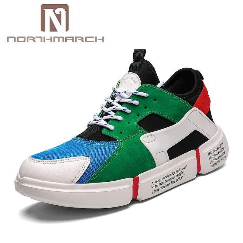NORTHMARCH 2018 Spring Autumn Men Shoes Breathable Casual Shoes For Men Lace-Up Fashion Sneakers Krasovki Men Zapatillas Hombre 1