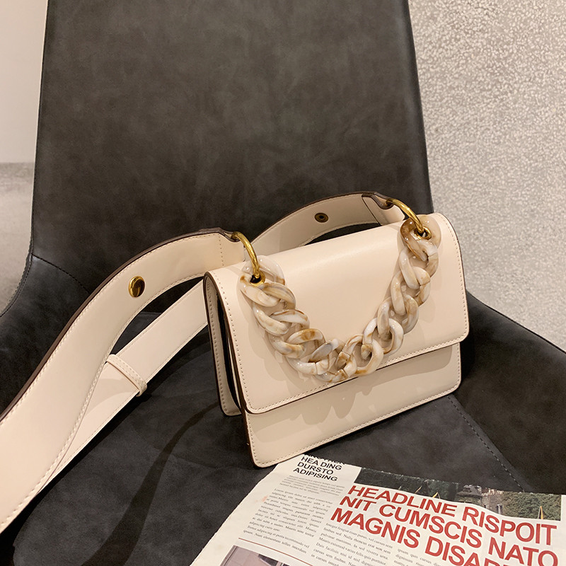 2019 New Wide Strap Shoulder Messenger Bags Casual Fashion Thick Chain Crossbody Bags Women Purse and Handbags2019 New Wide Strap Shoulder Messenger Bags Casual Fashion Thick Chain Crossbody Bags Women Purse and Handbags