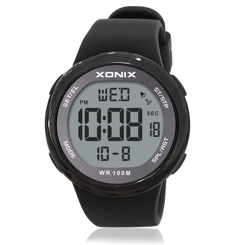 mergulho natação reloj hombre hardlex espelho sumergível relógio de pulso ny