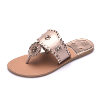 New 2017 Shoes Women Sandals Fashion Flip Flops Summer Style Hair Ball Chains Flats Solid Slippers