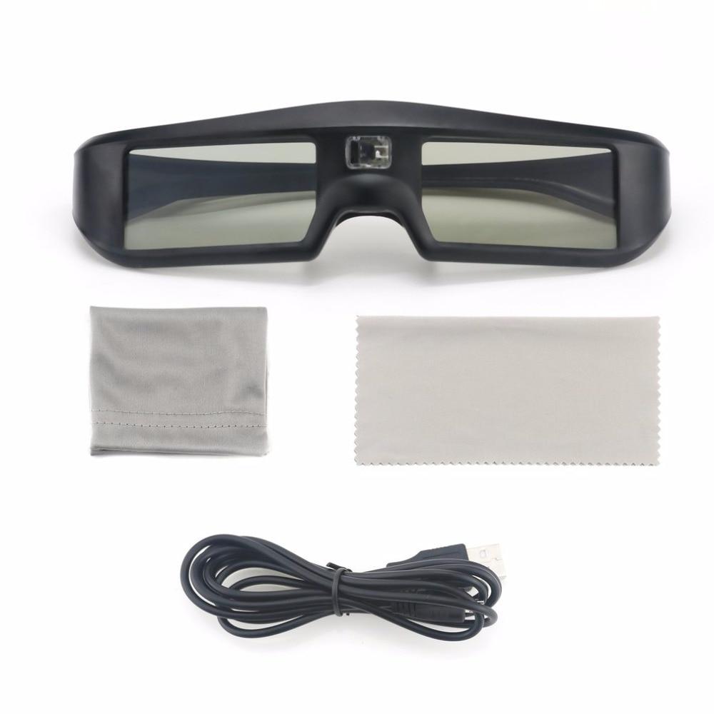 3D Glasses Active Shutter G06-DLP 3D Glasses For DLP- Link Projector G06-BT For 3D HDTV Virtual Reality Glasses