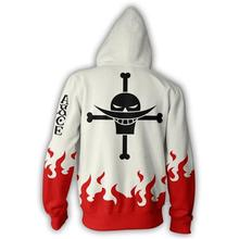 FIRE FIST ACE ZIP UP HOODIE