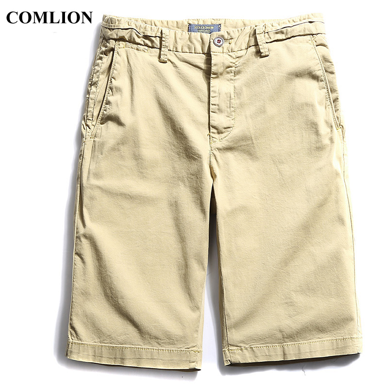New Brand Shorts Men Summer Cotton Cargo Shorts Casual Short Pants Mens Casual Clothing Bermudas Calf Length High Quality F10