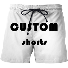 Luogen Custom Made Swimwear Trunks Beach Board Shorts Swimming Short Pants Swimsuits