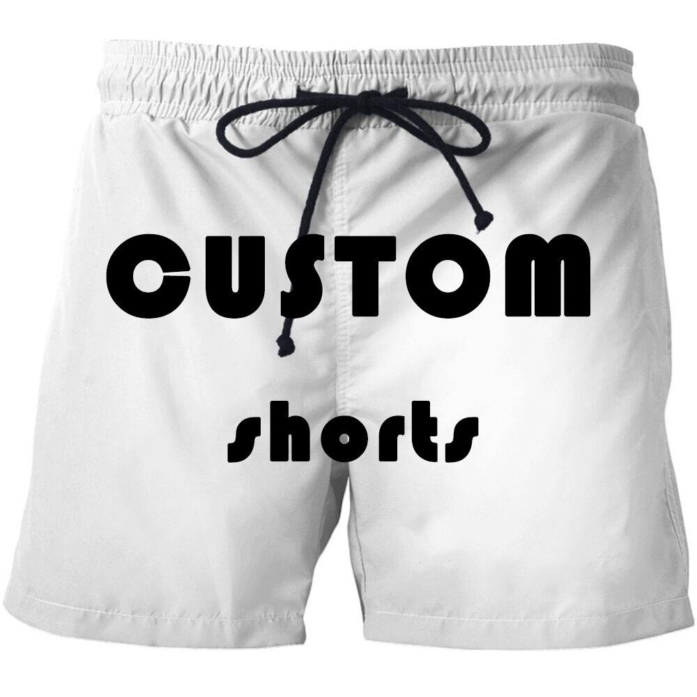 Custom Made Men Swimwear Swim Shorts Trunks Beach Board Shorts Swimming Short Pants Swimsuits Mens Running Sports Surffing Short