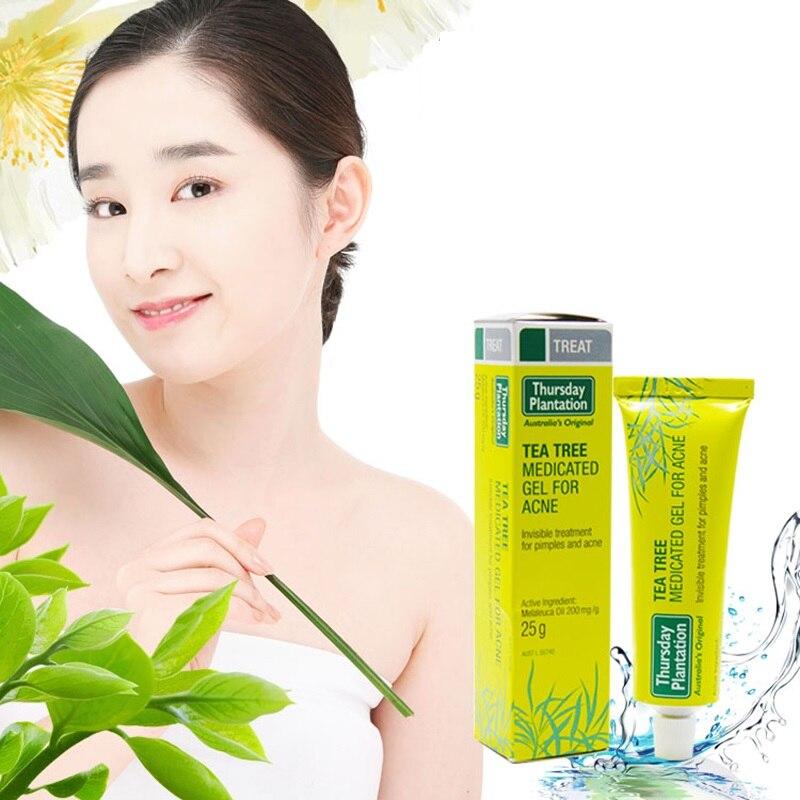 Original Australia Thursday Plantation Tea Tree Oil Gel For Dry Skin Acne Treatment Pimples Whiteheads Blackheads Skin Problem