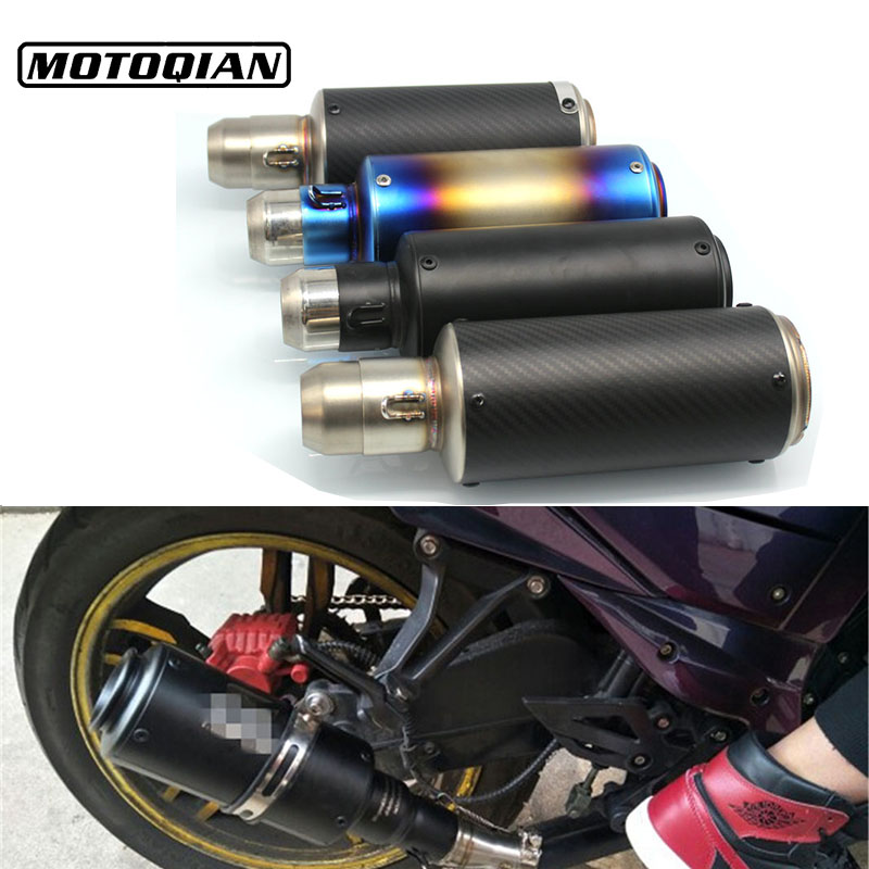 Universal Motorcycle 51mm Exhaust Pipe Muffler Escape Modified For Suzuki SV650 SV650s GSXR600 GSXR1000 GSXR750 Accessories motorcycle rear brake disc for suzuki gsxr600 gsxr750 gsxr1000 abs gsxr1100 sv650 svs650 sv1000 svs1000 tlr1000 tls1000 new