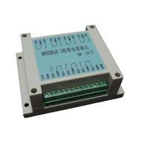MODBUS RTU Protocol 7 way Relay Output Module RS485 PLC Module