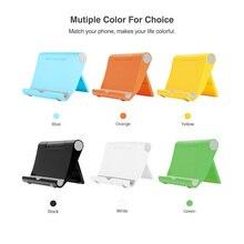 ET Mini Phone Holder Foldable Universal Mobile Phone Stand Holders for iPhone Xiaomi Samsung Huawei Tablet Desktop Mount Bracket