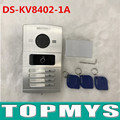 Hik Door Access control DS-KV8402-1A Video Intercom with four buttons and video door phone Video door station Doorbell