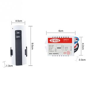 Image 5 - 1/2/3 vie ON/OFF AC 200V 240V ricevitore Wireless lampada lampada telecomando interruttore nuovo