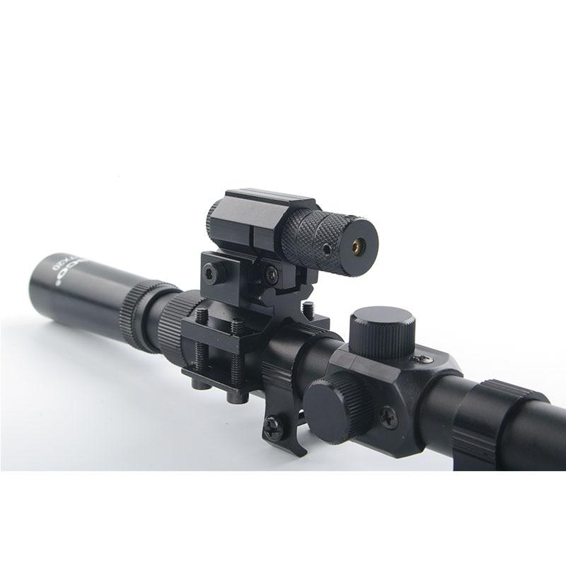 Softair-Gewehr 3-7x20 Zielfernrohre + Jagd-Rotlaser-Zielfernrohr + - Jagd - Foto 3