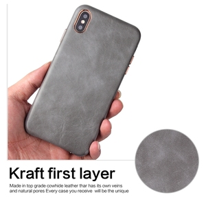 Image 5 - Eqvvol Luxury Leather Case For iPhone 8 7 Plus 6 6s Solid Color Cover For iPhone X XS MAX XR Soft Edge Cases Hard PC Cover Coque