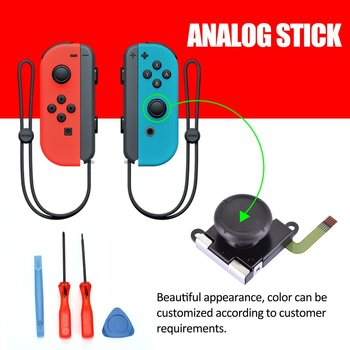 3D Analog Gamepad Thumb Stick for Nintend Switch NS Joy Con for Joystic Sensor Module Repair Tool for JoyCon Replacement