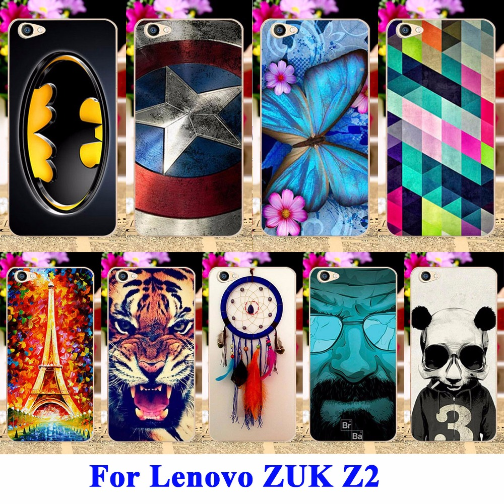 Hard Plastic Mobile Phone Cases Covers For Lenovo ZUK Z2 5.0 inch Housing Cover Skin Protector Sheath Durable Back Shell Hood