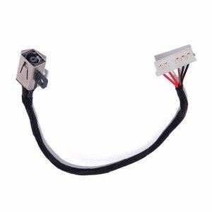 Разъем питания постоянного тока с кабелем подходит для Dell Inspiron 17 5000 5758 5759 5755 серии кабель для ноутбука 037KW6 37KW6 DC30100TT00