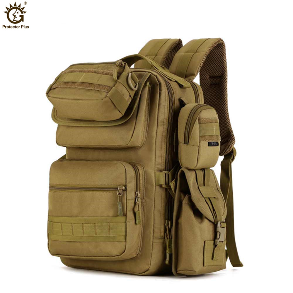 25L Laptop Backpack Wear Mini Nylon Water-proof Assault Military Backpack Army Camouflage Travel Backpacks Mochila Hombre