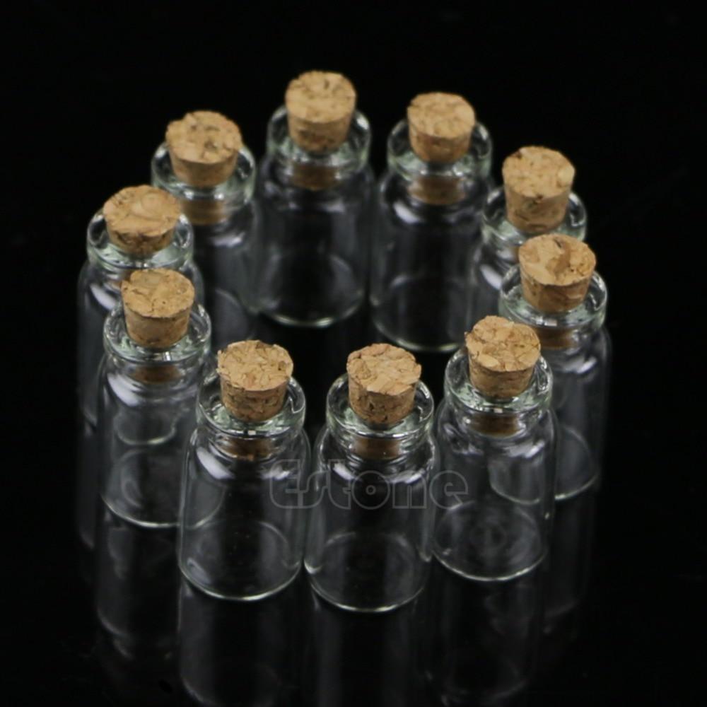 маленькие стеклянные бутылки свадьбы