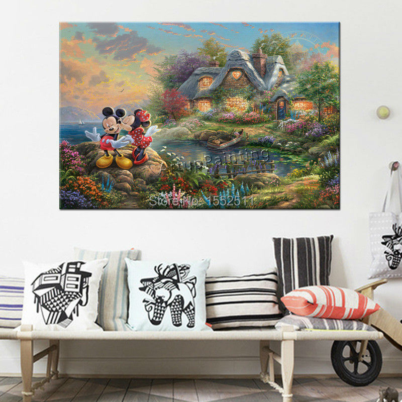 Thomas kinkade posters and prints canvas print painting - Home interiors thomas kinkade prints ...