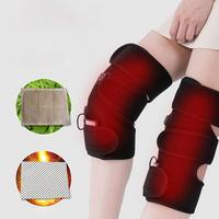 1 Pair Winter Infrared Arthritis Rheumatism Therapy Electric Heating Knee Pads