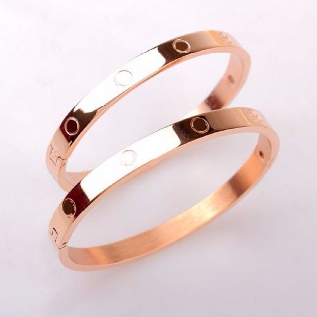 Ladies Titanium Cuff Bangle
