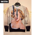 3d Character Print Mens Hoodies Fashion Marilyn Monroe Joker Carriage Egyptian Sphinx Rap Star Printing Women's Sweatshirts