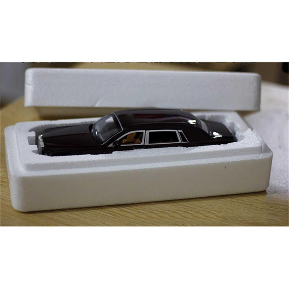 1/24 Model Mobil Rolls-royce Phantom Diperpanjang Cohes Diecast Paduan Sixdoor Model Lampu Model Simulasi Tinggi Hadiah Mainan Koleksi