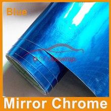 Автомобильный стиль,, Высококачественная Виниловая пленка для автомобиля 1,52*30 м, зеркальная хромированная с воздушными пузырьками, BW-102