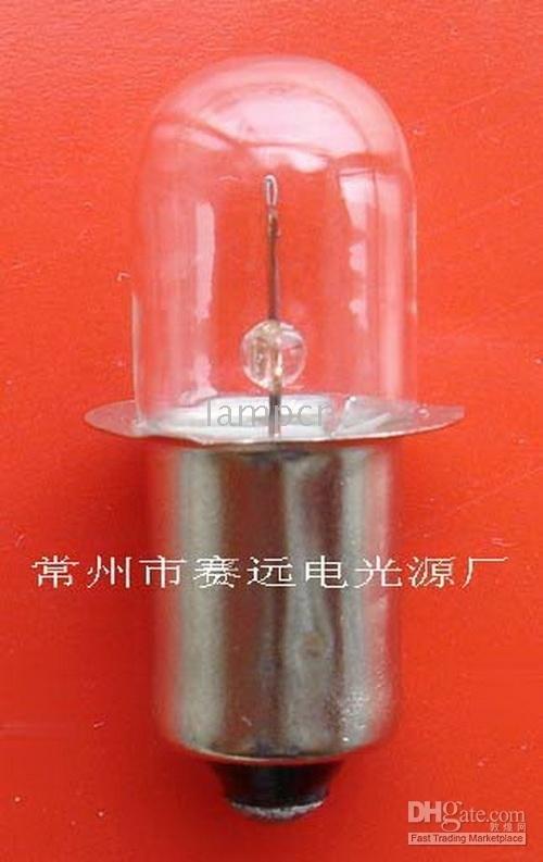 NY! miniatyrlampe p13.5sx28 6v 1w a109 sellwell belysning