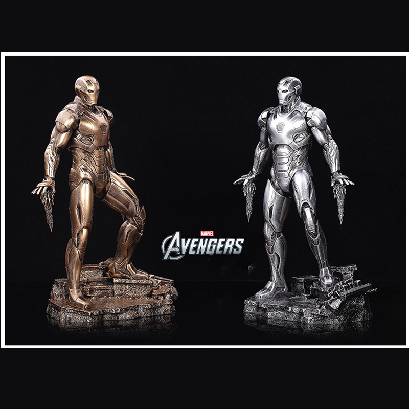 1/6 Scale 33CM The Avengers2 Age of Ultron Iron Man Mark MK 45 Resin Starue Action Figure Collectible Model Toy фигурка planet of the apes action figure classic gorilla soldier 2 pack 18 см