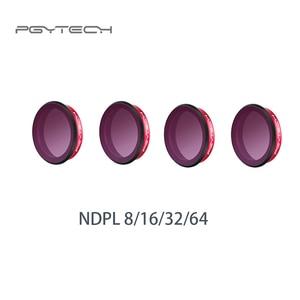 Image 5 - PGYTECH ل Osmo عمل عدسة تصفية الأشعة فوق البنفسجية/CPL/ND/ND PL 8 16 32 64 المهنية النسخة مجموعة فلاتر ل DJI OSMO العمل