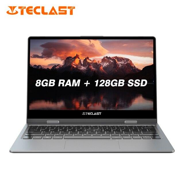 Teclast F5 Laptop Intel Gemini Lake N4100 Quad Core 8GB RAM 128GB SSD Windows10 360 Rotating Touch Screen 11.6 inch Notebook PC