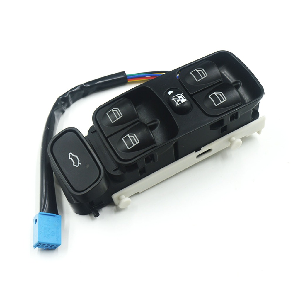 Pair Power Window Switch Console Cover Cap For Mercedes Benz C230 C240 C280 W203