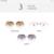FEIDU Lente Tonalidade Oversize Óculos De Sol Das Mulheres de Design Da Marca óculos de Sol Sem Aro Mulheres Óculos Para Óculos Gafas Oculos de sol Feminino